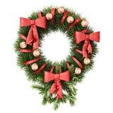 Decoración de la Navidad y del Año Nuevo, trayectoria de recortes incluida. Foto de archivo libre de regalías