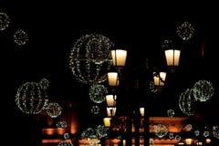 Decoración de la noche imágenes de archivo libres de regalías