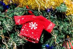 Decoración de la original del árbol de navidad Imagen de archivo