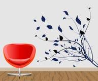 Decoración de la pared ilustración del vector