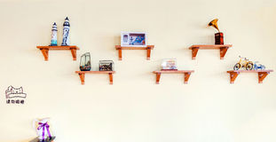 Decoración de la pared Foto de archivo