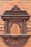 Decoración de la pared del Buddhism Fotografía de archivo