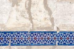 Decoración de la pared del Islam fotografía de archivo
