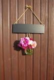Decoración de la puerta Fotos de archivo libres de regalías