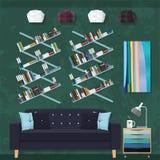 Decoración de la sala de estar Imagen de archivo