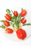 Decoración de la tabla de comida fría Foto de archivo