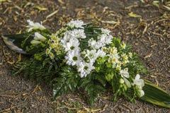 Decoración de la tabla de la flor Imagenes de archivo