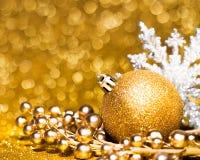 Decoración de la tarjeta del Año Nuevo Imagen de archivo libre de regalías