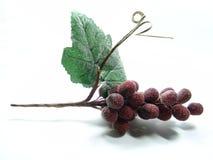 decoración de la uva roja foto de archivo libre de regalías