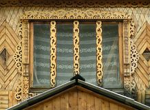 Decoración de la ventana Imagenes de archivo
