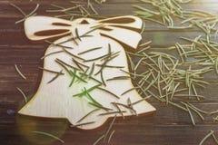 Decoración de las agujas de Noel- Fotografía de archivo