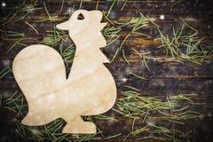 Decoración de las agujas de Noel- Imagen de archivo libre de regalías