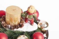 Decoración de los Años Nuevos y de la Navidad Imágenes de archivo libres de regalías