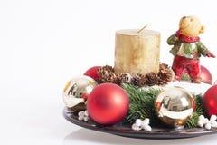 Decoración de los Años Nuevos y de la Navidad Imagen de archivo