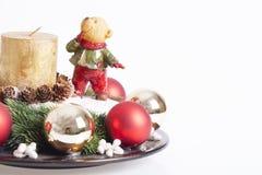 Decoración de los Años Nuevos y de la Navidad Imagenes de archivo