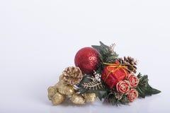 Decoración de los Años Nuevos y de la Navidad Foto de archivo