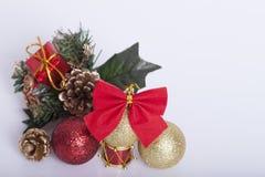 Decoración de los Años Nuevos y de la Navidad Fotos de archivo