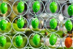 Decoración de los huevos de Pascua Imagen de archivo libre de regalías