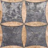 Decoración de mármol Foto de archivo libre de regalías