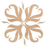 Decoración de madera de roble Imágenes de archivo libres de regalías