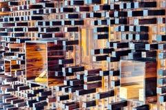 Decoración de madera del arte Fotografía de archivo libre de regalías
