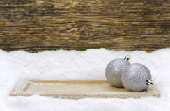 Decoración de Navidad Fotografía de archivo libre de regalías