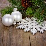 Decoración de Navidad imágenes de archivo libres de regalías