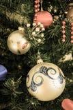 Decoración de Navidad en filtro retro Imagen de archivo libre de regalías