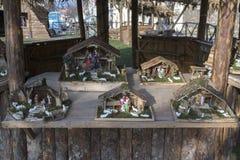 Decoración de Navidad en Zagreb, Croacia foto de archivo