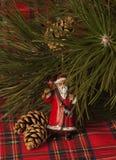 Decoración de Papá Noel imagen de archivo libre de regalías