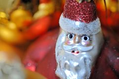 Decoración de Papá Noel imagen de archivo