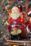 Decoración de Papá Noel   Imagenes de archivo