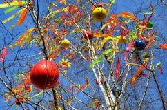 Decoración de Pascua en Praga imágenes de archivo libres de regalías