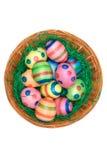 Decoración de Pascua (visión superior) foto de archivo libre de regalías