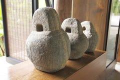 Decoración de piedra del zen Imágenes de archivo libres de regalías