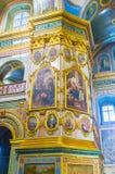 Decoración de Pochayev Lavra Fotografía de archivo libre de regalías