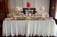 Decoración de una boda Imagen de archivo libre de regalías