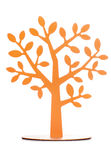 Decoración del árbol anaranjado Foto de archivo libre de regalías