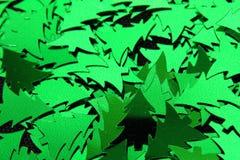 Decoración del árbol de abeto de la Navidad Fotografía de archivo