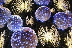 Decoración del árbol de navidad Imagen de archivo libre de regalías