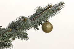 Decoración del árbol de navidad fotografía de archivo