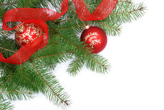 Decoración del árbol de navidad Imagen de archivo