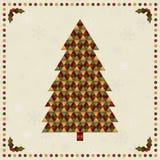 Decoración del árbol de navidad libre illustration