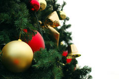 Decoración del árbol de navidad Fotografía de archivo libre de regalías