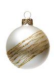 Decoración del árbol de navidad de Matt, aislada Fotos de archivo libres de regalías