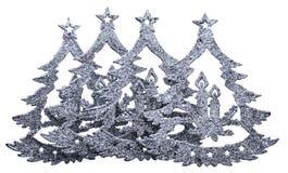 Decoración del árbol de navidad del Año Nuevo de un piel-árbol Imagen de archivo libre de regalías
