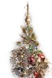 Decoración del árbol de navidad Vidrios vacíos Ejemplo del día de fiesta fotos de archivo
