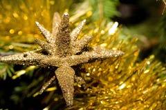 Decoración del árbol del Nuevo-Año Imagen de archivo