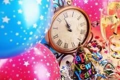 Decoración del Año Nuevo Imagen de archivo libre de regalías