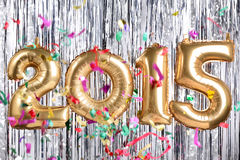 decoración del Año Nuevo 2015 Fotos de archivo libres de regalías